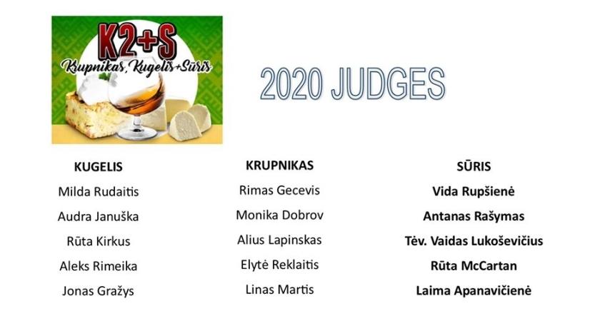 2020 judges